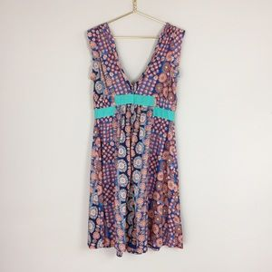 Marc Jacobs mixed print dress 12